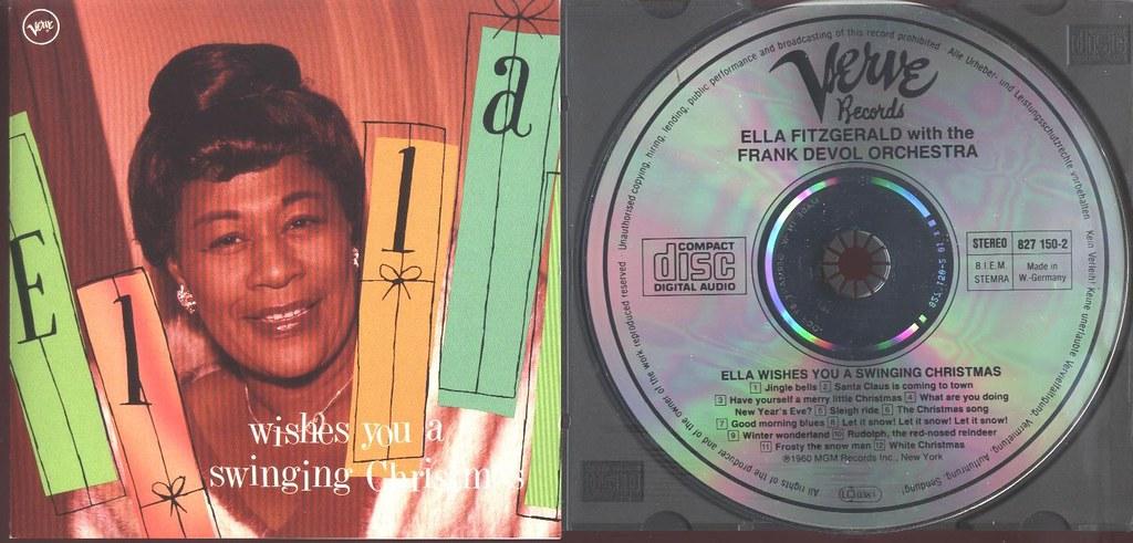 Ella Wishes You A Swinging Christmas.Ella Wishes You A Swinging Christmas Verve 1988 Wg Flickr