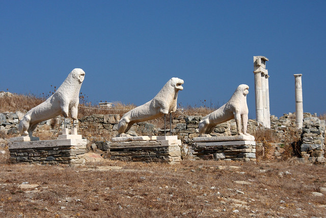 Terrace of the lions
