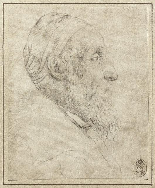 Titian: Self-portrait (drawing)