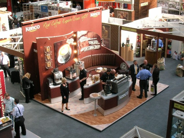 Exhibition Stand Coffee : Quality exhibition stand for kenco coffee peter forse flickr