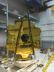 The James Webb Space Telescope Rotating