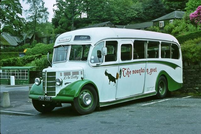 The Mountain Goat Bus, LRO 296  (June 1976)