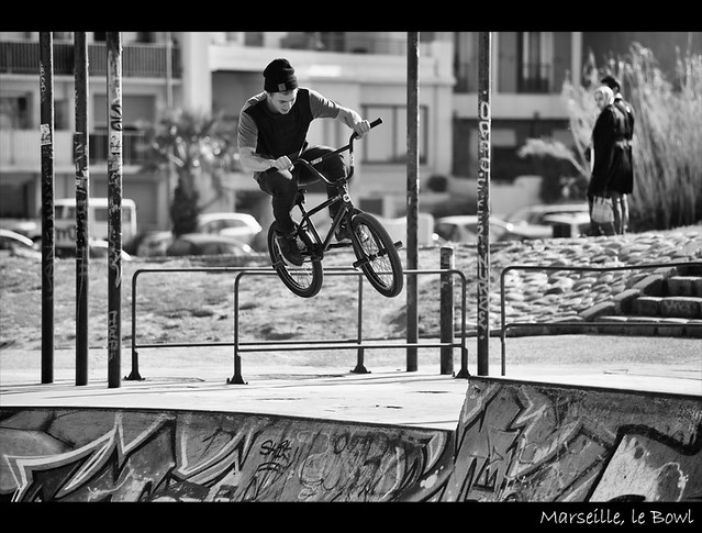 ★ Marseille, le bowl ~ Karim SAARI ©