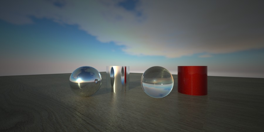 HDR lighting in 3ds Max and Maxwell Render Objects in sky … | Flickr