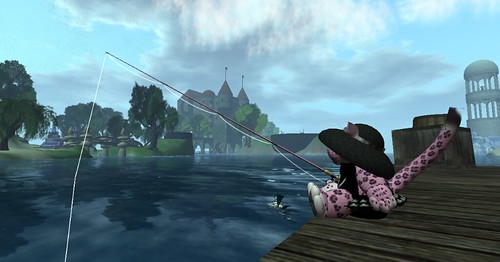 Aev's Gone Fishing...as a tiny   by AevalleGalicia