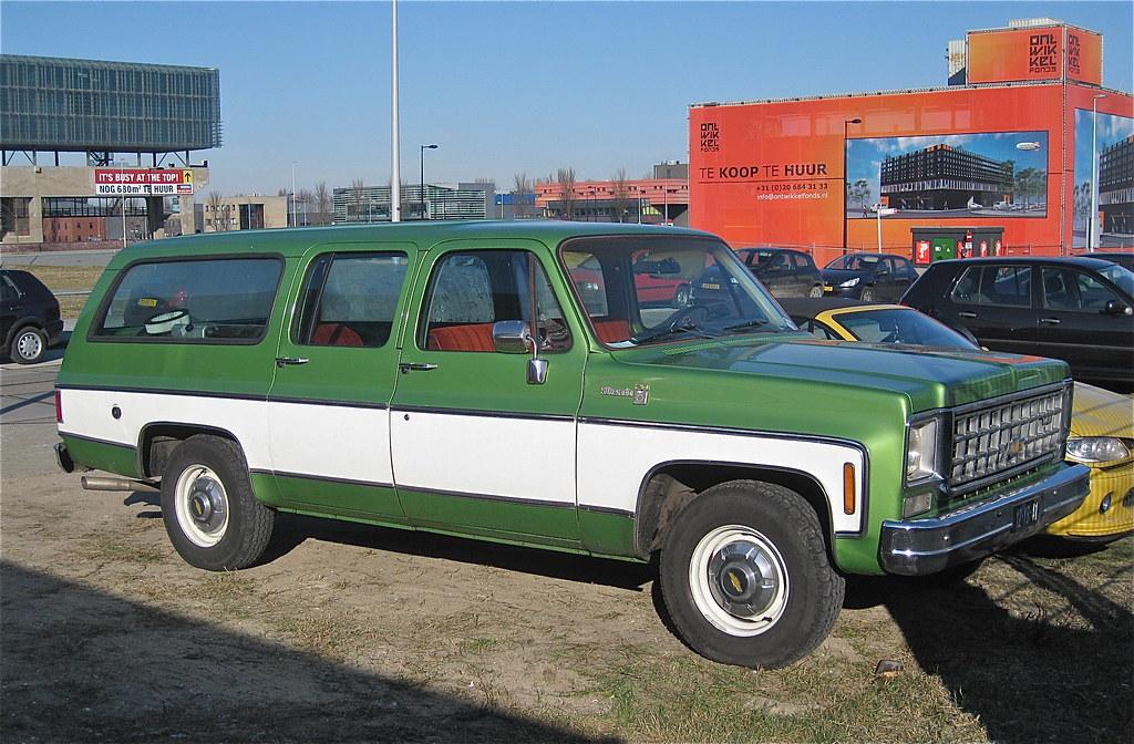 CHEVROLET Suburban 454 Silverado 2 0, 30-6-1975 | Imported i… | Flickr