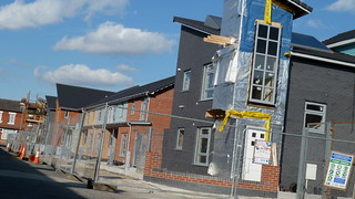 Greenheys housing development under construction in Moss Side | by Alex Pepperhill