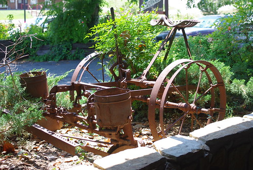 Old Horse Drawn Corn Planter