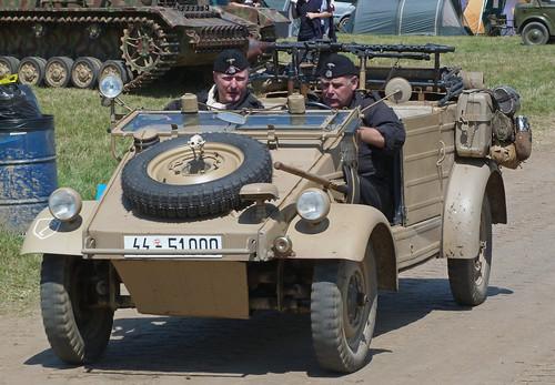SS Panzer Division Kubelwagen