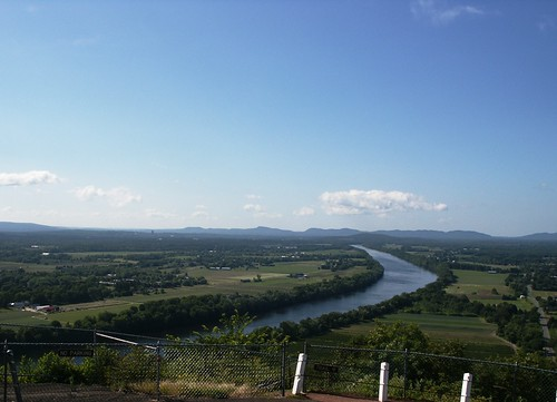 Connecticut River looking South from Sugarloaf Mountain, So. Deerfield, MA - 2011 | by robposse
