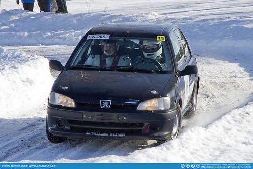 15. Jari Mäkelä / Teemu Puro - Peugeot 106 Rallye | by tommij