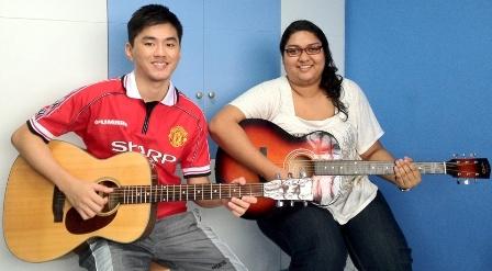 Guitar lessons Singapore Lynnette