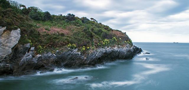 Un mar de rocas impenetrable