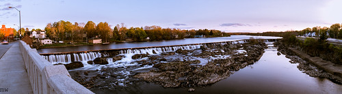 panorama waterfall lowell pawtucketfalls mammothstreet
