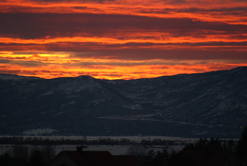 sunset february 2012 sinj dinaric sunce 28day bosnaihercegovina livanjskikanton premasinj