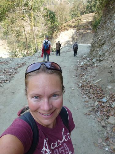 Poon Hill Trekking - dag 1 - pad