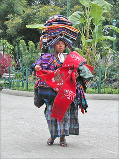 Vendeuse de souvenirs (Antigua, Guatemala)