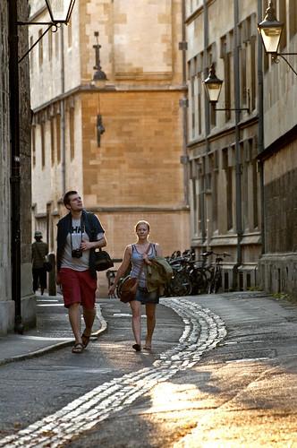 UK - Oxford - Brasnose Lane Tourists