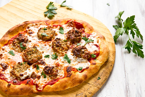 Meatball Pizza | by TheBrewer&TheBaker