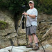 Photographer Dale King in Linville Gorge by R. Keith Clontz