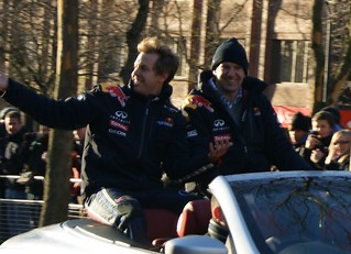 Vettel and Newey | by rookief1