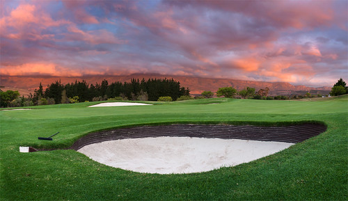 sunset green clouds southafrica sand cloudy golfcourse westerncape somersetwest