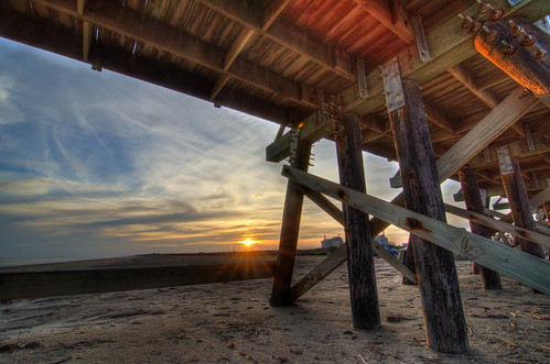 sunset sky usa beach landscape photography fishing nikon texas boardwalk gulfcoast quintana quintanabeach d7000