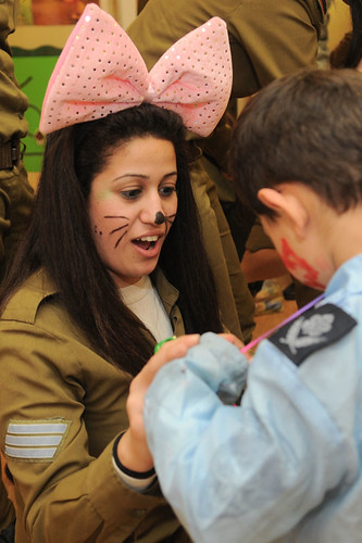 Soldiers Celebrate Purim with At-Risk Children - March 8, 20… - Flickr
