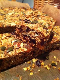 Homemade granola bar | by franksteiner