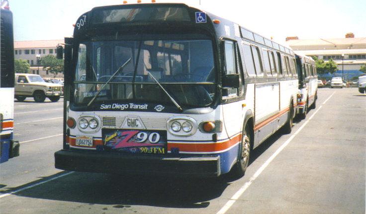 Gmc San Diego >> San Diego Transit Fishbowl This Is Sdt 1981 Gmc Canadian F
