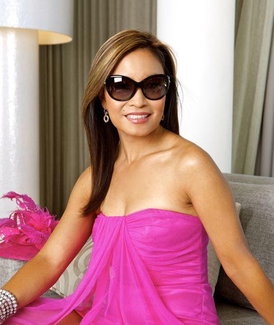 eba0601c3ebb ... TV presenter Jen Su in Tiffany cat-eye sunglasses by Sunglass Hut South  Africa