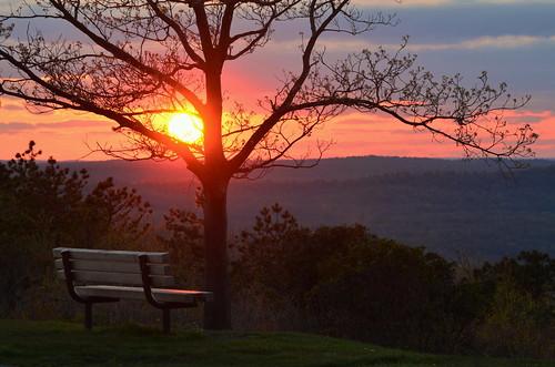 sunset bigpoconostatepapark