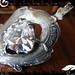 Pendant Silver White CZ Trilliant 03