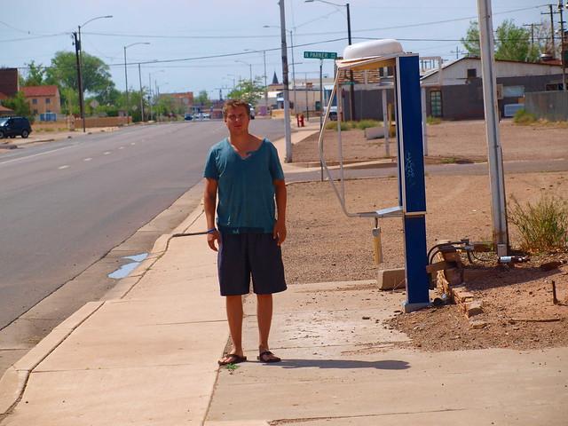 STANDING ON A CORNER IN WINSLOW AZ