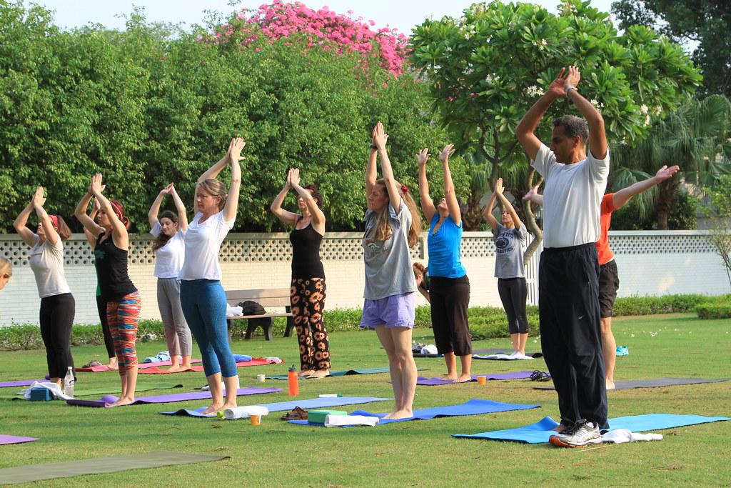 International Yoga Day Celebrations at the Embassy (June 2… | Flickr