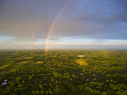 life sunset summer storm home nature field landscape rainbow peace farm peaceful stormy aerial cny upstatenewyork aerialphotography drones skaneateles phantom4 dji 360degreerainbow dronephotography djiphantom4 rainbowdrone