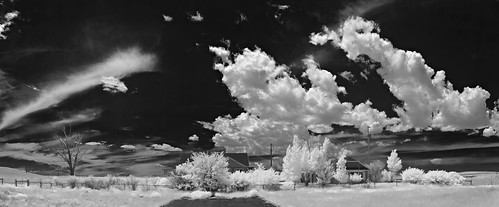 along the lincoln hwy - infrared
