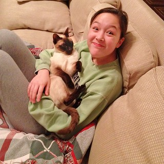 59/365+1 Goofy Girl and Cat | by shirley319