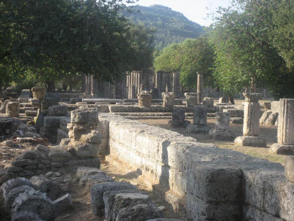 Ruins at Mt. Olympia