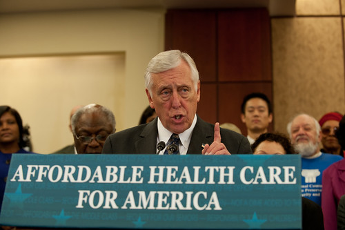 Democratic Whip Steny Hoyer | by Speaker Nancy Pelosi