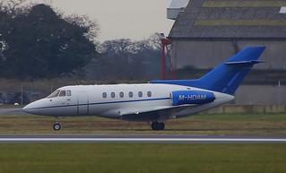 M-HDAM. Hawker 125-800 ~ 13th February 2012
