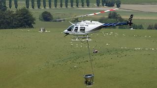 Bell 206 Jet Ranger Helicopter.