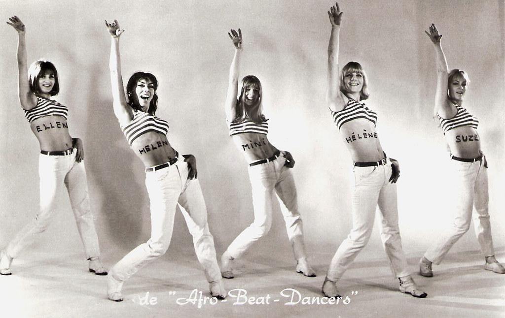 de Afro-Beat-Dancers   Dutch postcard, no  1166  Photo: Van …   Flickr