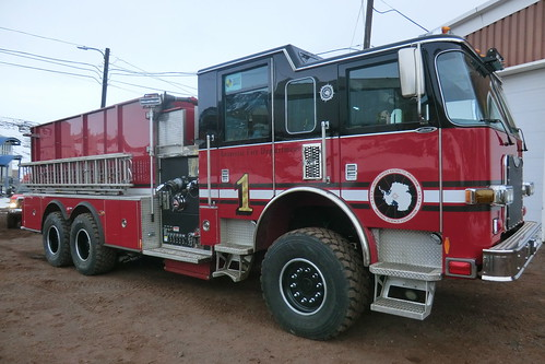 Antarctic Fire Department Engine 1 | by mcmurdotimes