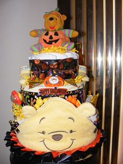 3 Tier Halloween Pooh