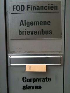 FOD Financiën - Corporate slaves!