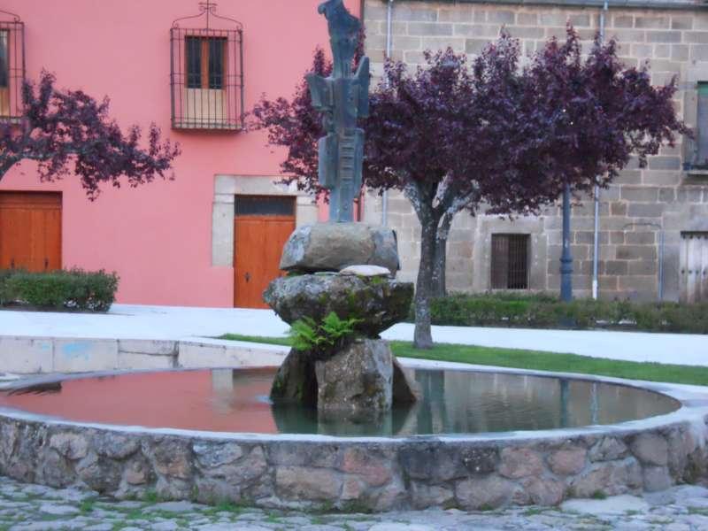 Fuente para jardín grande