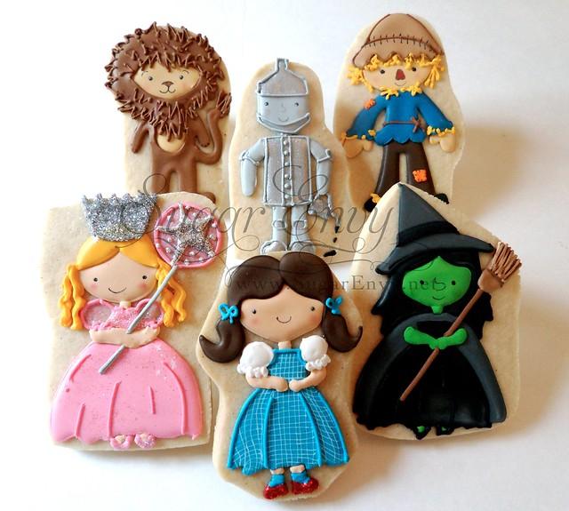 Wizard of OZ cookie set