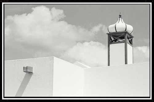 Lanzarote building detail (an exercise in whites) | by Whangdoodle1