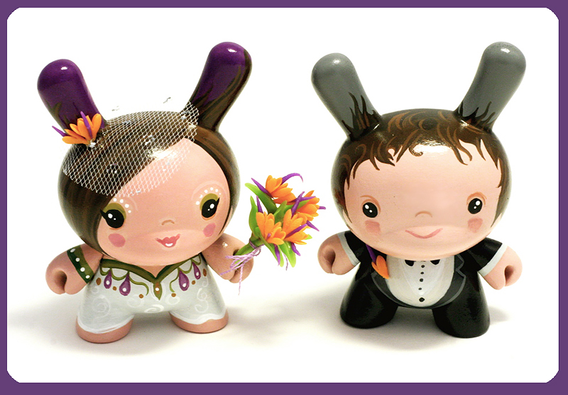 Wedding Dunny Set | Just finished these for a lovely couple … | Flickr